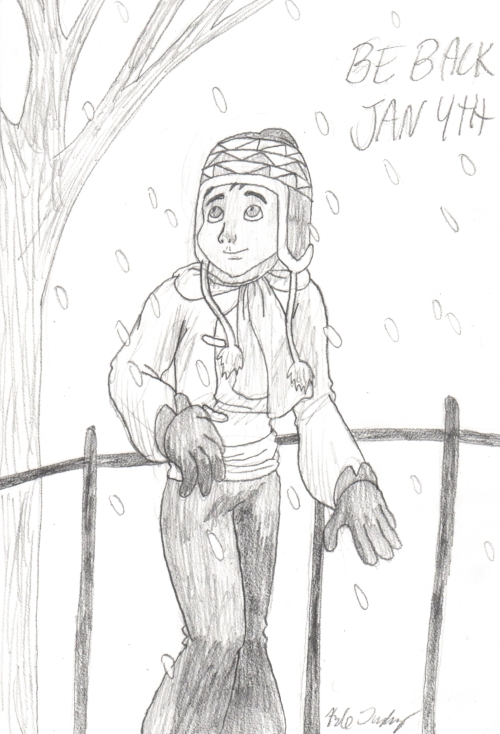 Christmas Sherpa Sketch