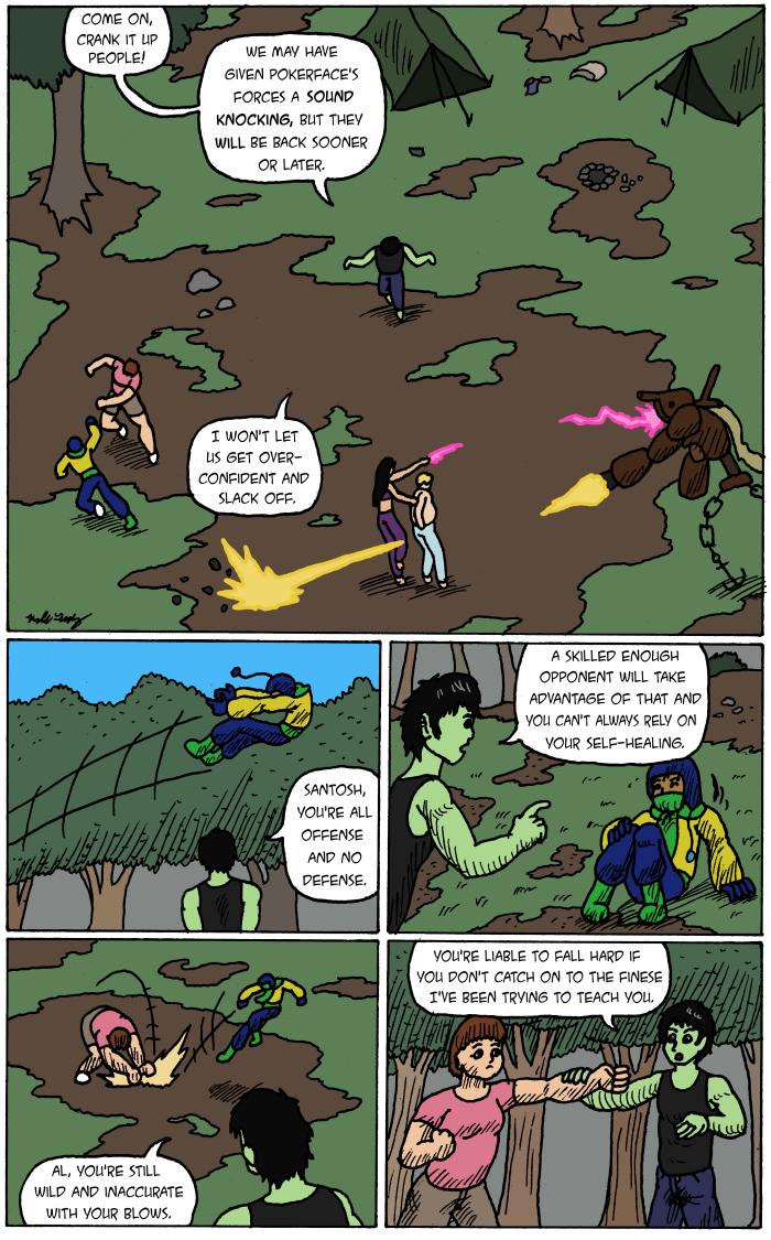 Predator From Afar pg 1